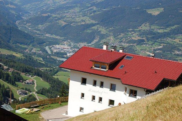 Kaserhof brixen agriturismo in alto adige eisacktal for Vacanze a bressanone