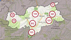 è Online La Nuova Cartina Interattiva Dellalto Adige Gallo Rosso